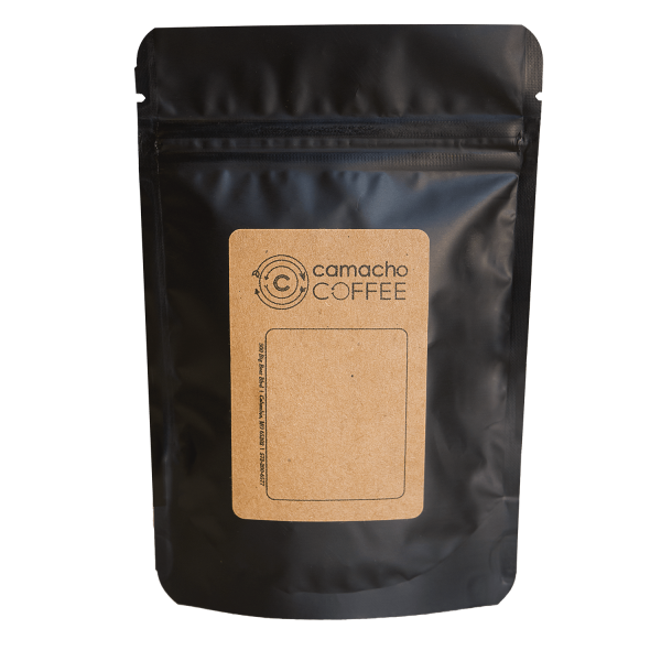 Camacho Coffee Sample Size Bag