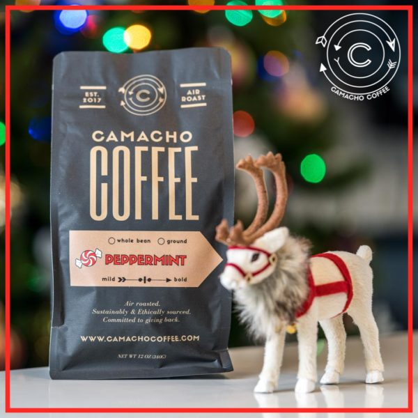 Camacho Coffee Peppermint Coffee Promo
